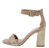 Nicole02 Nude Women's Heel - Wholesale Fashion Shoes
