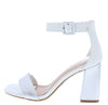 Nicole02 White Women's Heel - Wholesale Fashion Shoes
