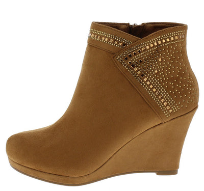 Norita71 Tan Women's Boot - Wholesale Fashion Shoes