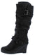 Norita78 Black Women's Boot