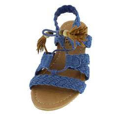 OMH8222KS DENIM KIDS SANDAL - Wholesale Fashion Shoes