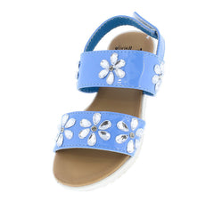 OMS1017KS BLUE KIDS SANDAL - Wholesale Fashion Shoes
