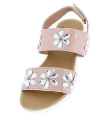OMS1017KS BLUSH KIDS SANDAL - Wholesale Fashion Shoes
