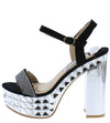 Jessica118 Black Women's Heel - Wholesale Fashion Shoes