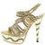 Abigail059 Gold Women's Heel