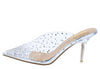 Perfume Silver Women's Heel - Wholesale Fashion Shoes