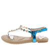 Pk020001 Dark Blue Women's Sandal - Wholesale Fashion Shoes