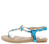 Pk020003 Dark Blue Women's Sandal - Wholesale Fashion Shoes