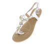 Pk020003 Silver Women's Sandal - Wholesale Fashion Shoes