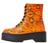Poppin Neon Orange Women's Boot - Wholesale Fashion Shoes