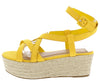 Purchase11 Amber Suede Women's Wedge - Wholesale Fashion Shoes