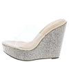 Beverly141 Clear Nude Women's Wedge - Wholesale Fashion Shoes