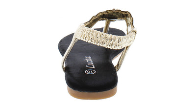 Pecko334km Black Kids Sandal - Wholesale Fashion Shoes