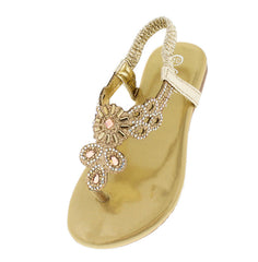 PECKO334KM GOLD KIDS SANDAL - Wholesale Fashion Shoes