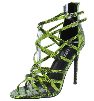 Percy Snake Women's Heel - Wholesale Fashion Shoes
