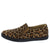 Pinster1 Cheetah Slide On Sneaker Loafer Flat