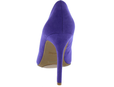 Pledge20s Ultra Violet Pointed Toe Stiletto Heel - Wholesale Fashion Shoes