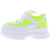 Pops12 Neon Yellow Multi Women's Flat
