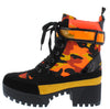 Powerful36 Orange Camoflage Women's Boot - Wholesale Fashion Shoes