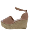 Prema01 Mauve Women's Wedge - Wholesale Fashion Shoes