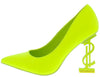 Priceless Lime Women's Heel - Wholesale Fashion Shoes