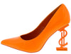 Priceless Orange Women's Heel - Wholesale Fashion Shoes