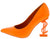 Priceless Orange Women's Heel