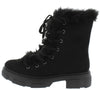 Puzzle04 Black Women's Boot - Wholesale Fashion Shoes
