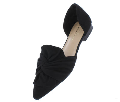 Kimberly120 Black Women's Flat - Wholesale Fashion Shoes