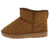R001011 Camel Sherpa Lug Sole Pull On Ankle Boot