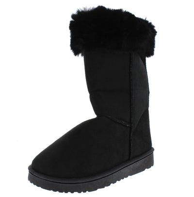 R001220 Black Women's Boot - Wholesale Fashion Shoes