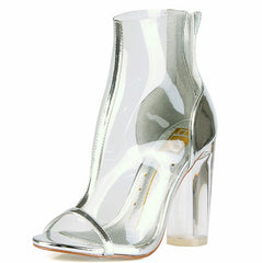 ROSY04 SILVER WOMEN'S BOOT - Wholesale Fashion Shoes