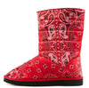 Christina113 Red Women's Boot - Wholesale Fashion Shoes