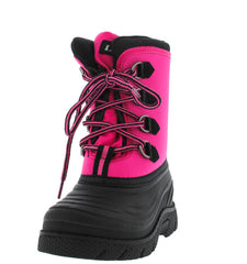 RAIN36K BLACK FUCHSIA KIDS DUCK RAIN SNOW BOOT - Wholesale Fashion Shoes