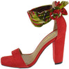Rave05 Red Women's Heel - Wholesale Fashion Shoes