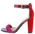 Rave08 Hot Pink Women's Heel