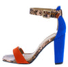 Rave08 Orange Women's Heel - Wholesale Fashion Shoes