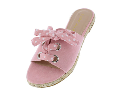 Reece Pink Women's Sandal - Wholesale Fashion Shoes