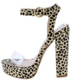 Reggie Leopard Women's Heel - Wholesale Fashion Shoes