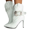 Reid White Women's Boot - Wholesale Fashion Shoes