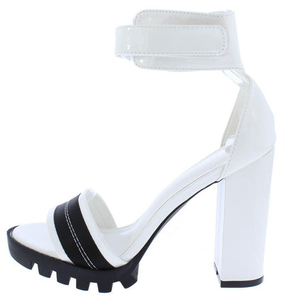Revengers White Woman's Heel - Wholesale Fashion Shoes