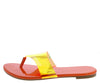 Lynne247 Orange Hologram Women's Sandal - Wholesale Fashion Shoes