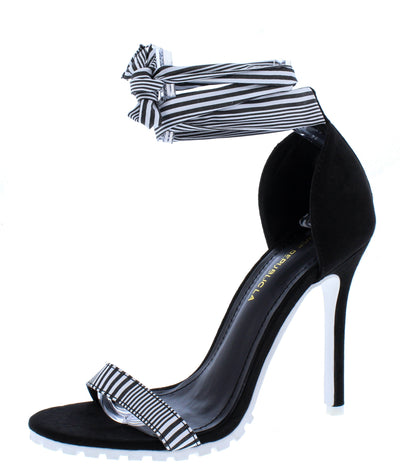 Rhonda Black Women's Heel - Wholesale Fashion Shoes