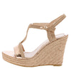 Rina02 Rose Gold Women's Wedge - Wholesale Fashion Shoes