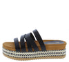 Riri16 Black Women's Sandal - Wholesale Fashion Shoes