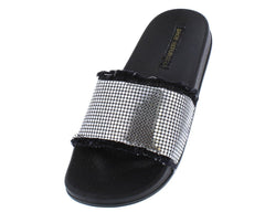 ROOROO PEWTER WOMAN'S FLAT - Wholesale Fashion Shoes
