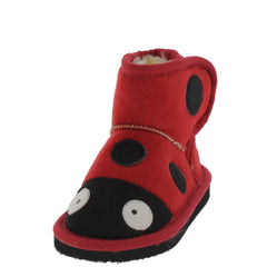 ROSSI2 RED INFANT LADYBUG BOOT - Wholesale Fashion Shoes