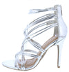 Royals42m Silver Women's Wedge - Wholesale Fashion Shoes