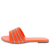 Sarah004P Orange Women's Sandal - Wholesale Fashion Shoes