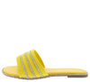 Sarah004P Yellow Women's Sandal - Wholesale Fashion Shoes
